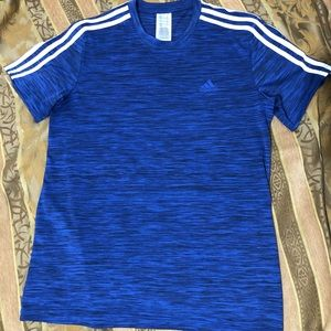 Adidas Blue Shirt | medium size |